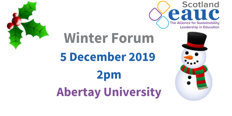EAUC-S Winter Forum