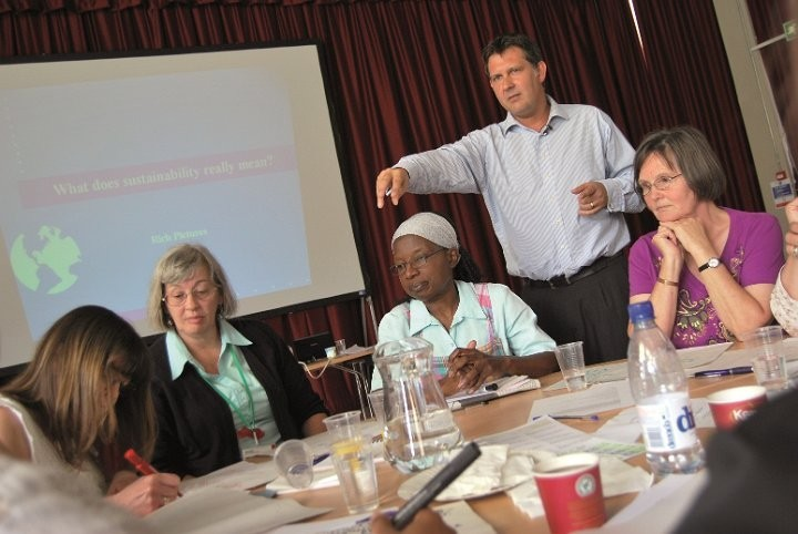 WACC staff learn about sustainability