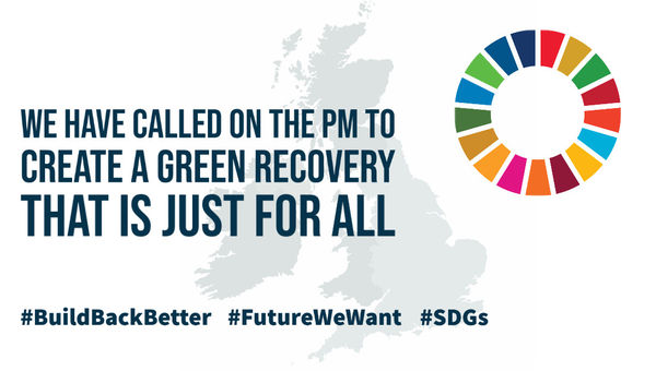 Leaders call on Prime Minister to create socially just and green recovery from Covid-19