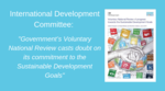 Governments Voluntary National Review casts doubt on its commitment to the SDGs image #1