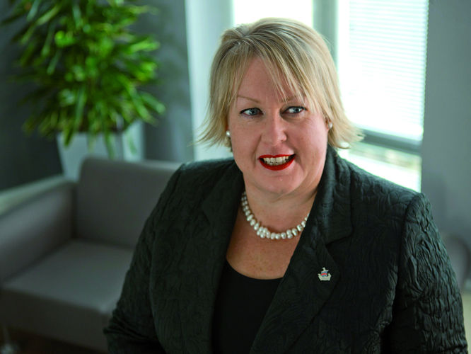 Professor Wendy Purcell, Vice-Chancellor, Plymouth University