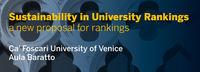 17/09/13 - Sustainability in University Rankings